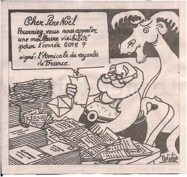 Lettre au Père Noël dans Coupures de presse ER-41