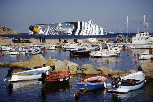 Le naufrage du Costa Concordia dans Emotion Costa-Concordia