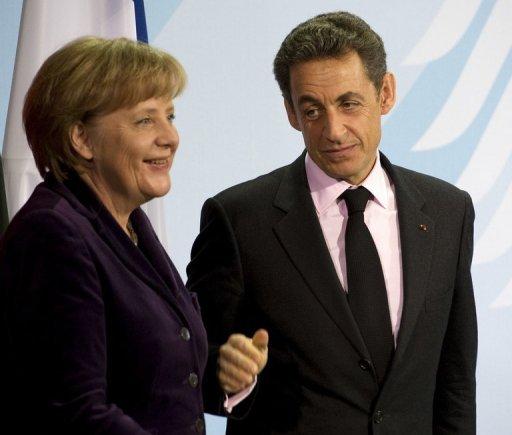 Le couple politique de l'année... 2011... dans Photos SarkoMerkel