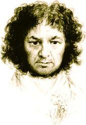 Il y a 266 ans... dans Souvenons-nous... Goya_selfportrait-pt9