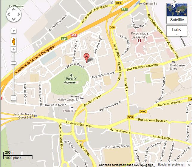 Lieu de rendez-vous le 23 mars prochain au CILM dans Infos plan-acces-CILM-Laxou1