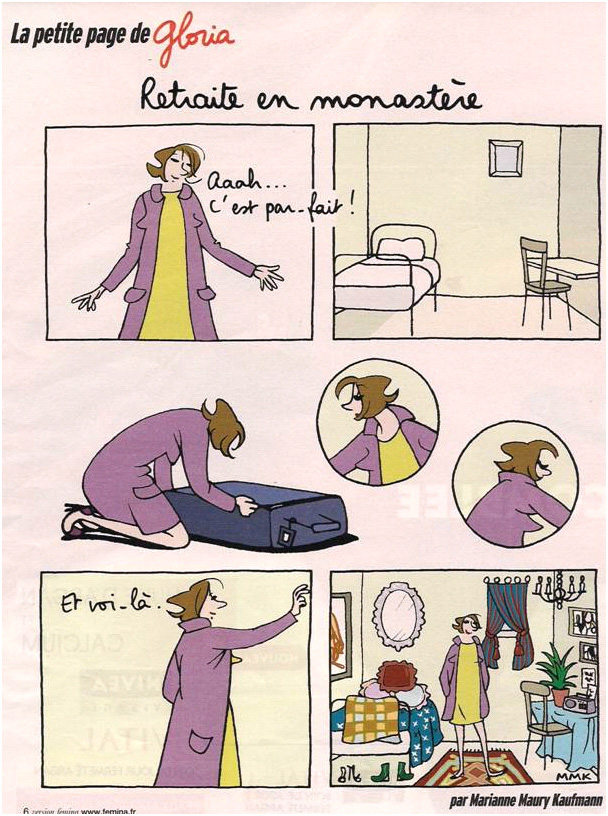 Une certaine idée de la vie monacale... dans Coupures de presse Gloria-015