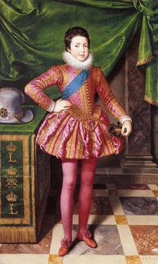Il y a 402 ans... Louis_XIII_enfant