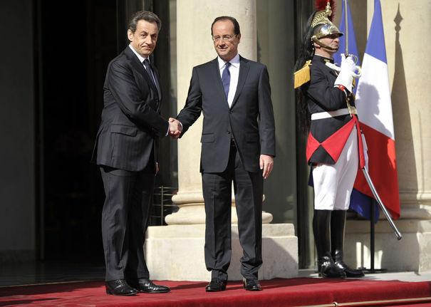 L'investiture de François Hollande dans Politique investiture-elysee-hollande-sarkozy