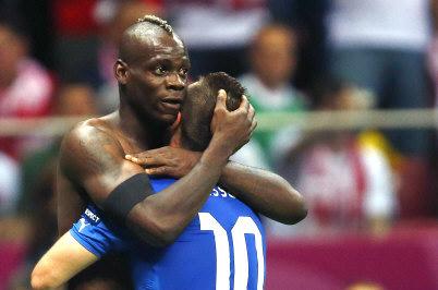 L'Italie en finale Balotelli