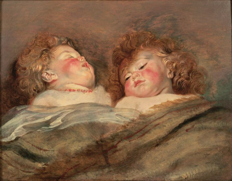 Rubens_Two_Sleeping_Children6668 flamand