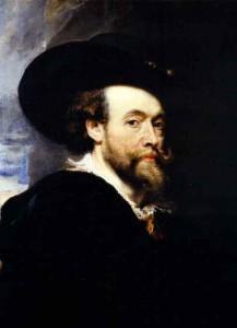 Il y a 435 ans... Rubens_self_portrait55571-217x300