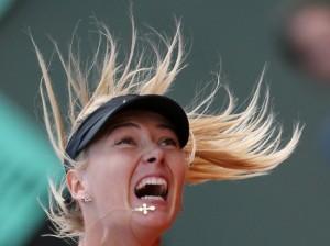 Finale dames samedi à Roland Garros Sharapova1-300x224