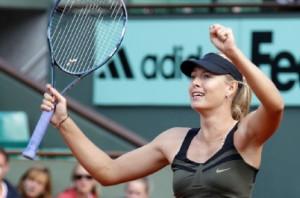 Sharapova, la nouvelle reine de Roland Garros Sharapova2-300x198