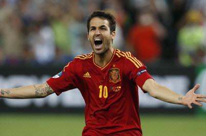 L'Espagne en finale fabregas