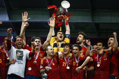 Espagne championne d'Europe dans Sport Espagne-championne