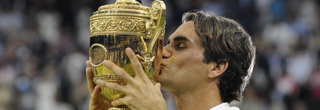 Federer vainqueur à Wimbledon Federer