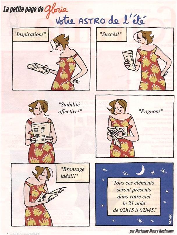 Horoscope dans Coupures de presse Gloria-022