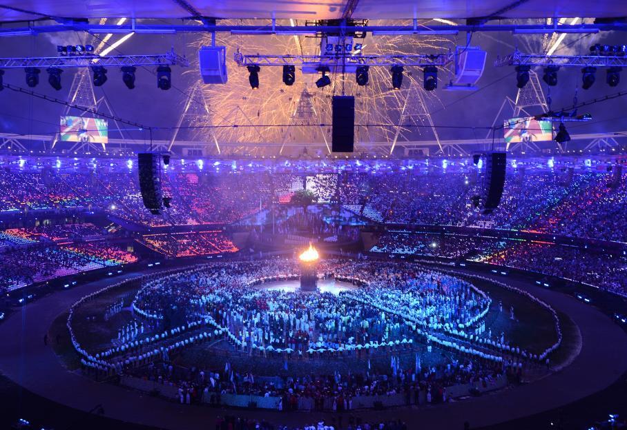 Coup d'envoi des 27e JO de Londres dans Sport Ouverture-JO
