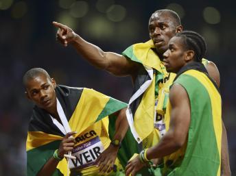 JO de Londres : le roi Bolt Bolt