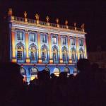 Son et lumière Place Stanislas Nancy 2012