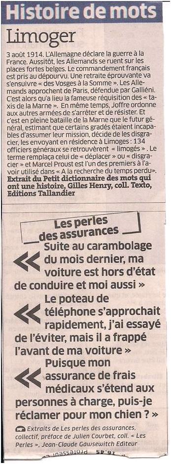 Histoire de mots dans Coupures de presse ER016