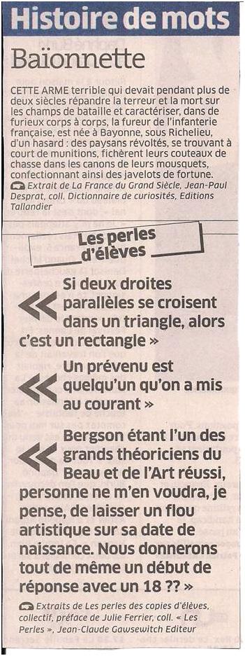 Histoire de mots dans Coupures de presse ER033