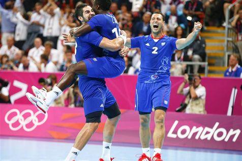JO de Londres : les handballeurs en finale contre la Suède Handball