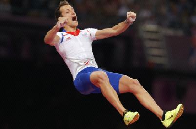 JO de Londres : médaille d'or au saut à la perche Lavillenie