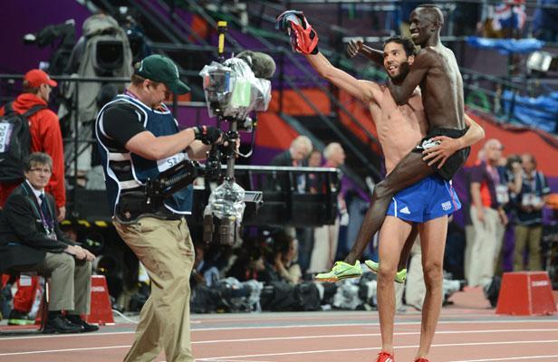 JO Londres : médaille d'argent au 3000 m haies Mekhissi