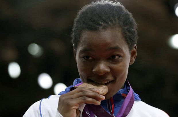 JO de Londres : le bronze en judo Tcheumeo