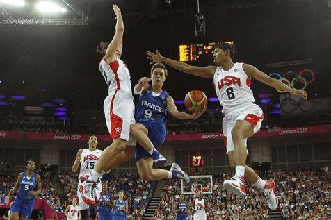 JO de Londres : l'argent pour les basketteuses françaises basket-bis