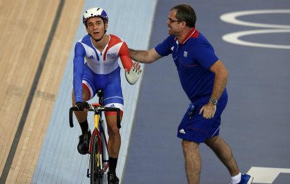 JO Londres : l'argent en cyclisme coquard