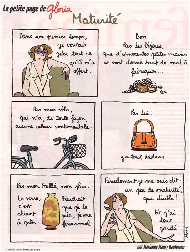 La maturité selon Gloria ! dans Coupures de presse Gloria-028