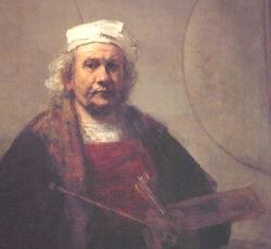 Il y a 343 ans... Rembrandt_van_rijn-autoportrait8