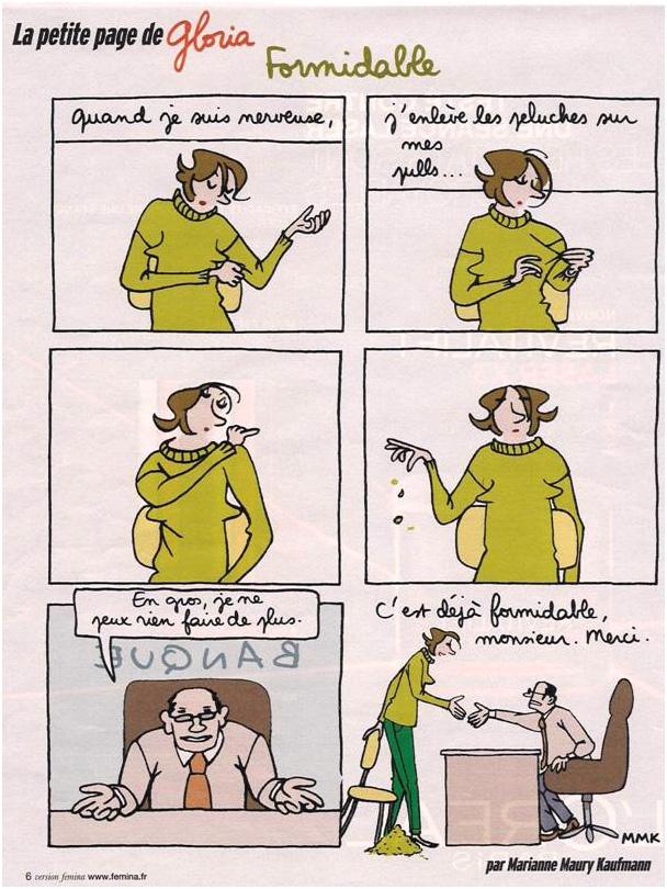 Gloria chez son banquier dans Coupures de presse gloria-032
