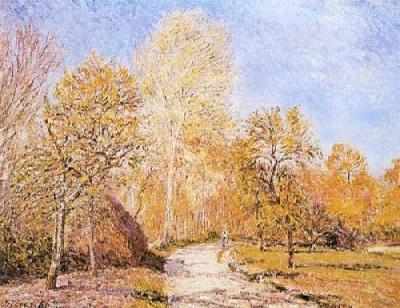 sisley-automne peintre dans Souvenons-nous...