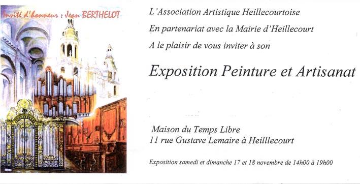 Exposition de Heillecourt dans Expos et salons du livre affiche-expo-heillecourt-2012