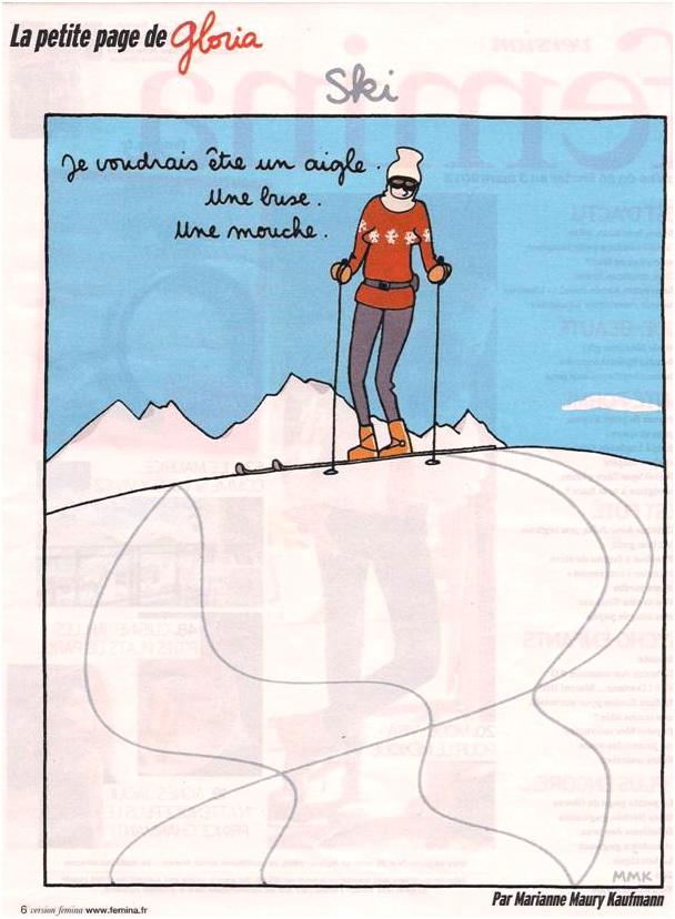 Au ski dans Coupures de presse gloria-08