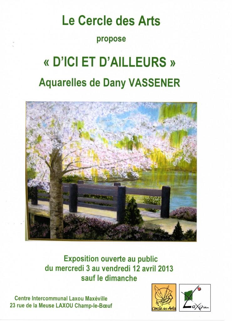 Exposition Dany VAssener dans Expos et salons du livre affiche-vassener002