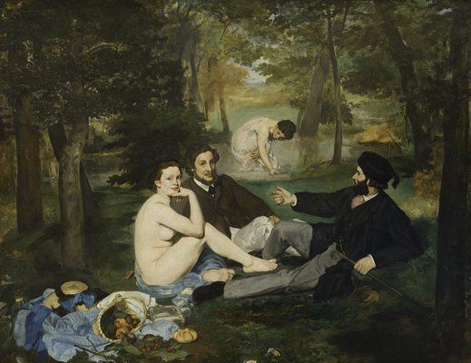 edouard-manet-le-dejeuner-sur-herbe déjeuner sur l'herbe
