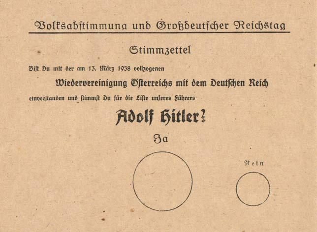 Il y a 75 ans... stimzettel-anschluss
