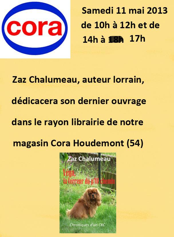Dédicaces à Cora Houdemont dans Expos et salons du livre affiche-cora-mai-bis