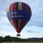 Morvan - juin 2013 - Vol en montgolfière