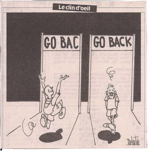 Le BAC avec humour... dans Coupures de presse er34