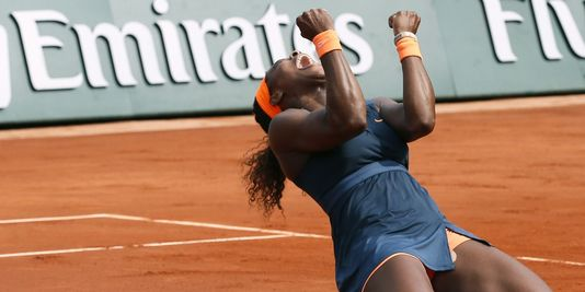 Serena Williams remporte la finale dames de Roland Garros dans Sport serena-williams