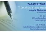 Zaz-Ecritoire : Une plume à votre service dans Divers carte-de-visite1-150x105