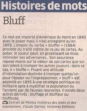 Bluff dans Coupures de presse er39