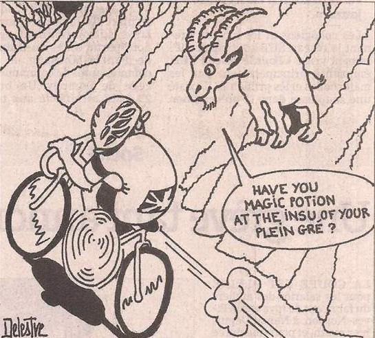 Le Tour de France selon Delestre dans Coupures de presse er45