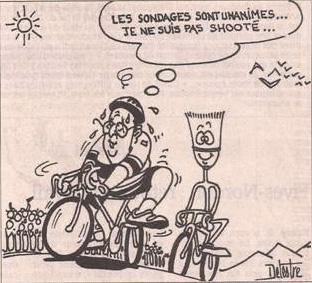 Le Tour de France selon Delestre dans Coupures de presse er48