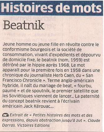 Beatnik dans Coupures de presse er69