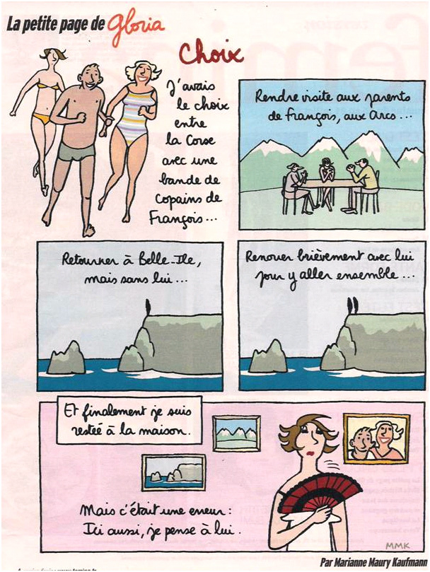 Le dilemme des vacances dans Coupures de presse gloria-28