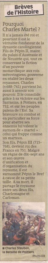 Charles Martel dans Coupures de presse er117