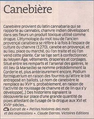 Canebière dans Coupures de presse er125