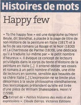 Happy few dans Coupures de presse er93